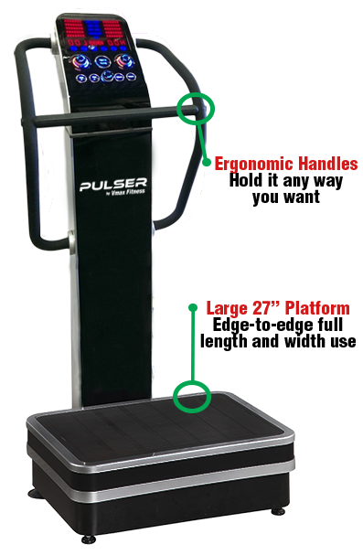 PULSER Vibration Machine Features